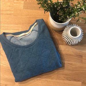 Alternative Apparel Tops - Alternative Apparel Quilted Fleece Sweatshirt